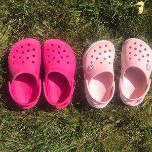 2/$25 Lil Girls Crocs Bundle!